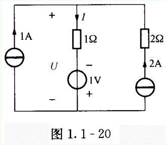 1-19所示的电路中,1a电流源发出的功率为( )w.